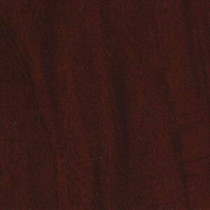 Panolam color swatch: Chamois, Mahogany Impression - W365