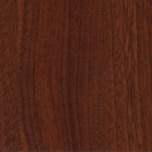 Panolam color swatch: Chamois, Mahogany - W372